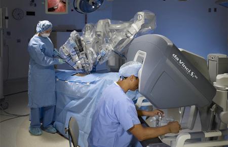 Da Vinci Robotic Assisted Surgery