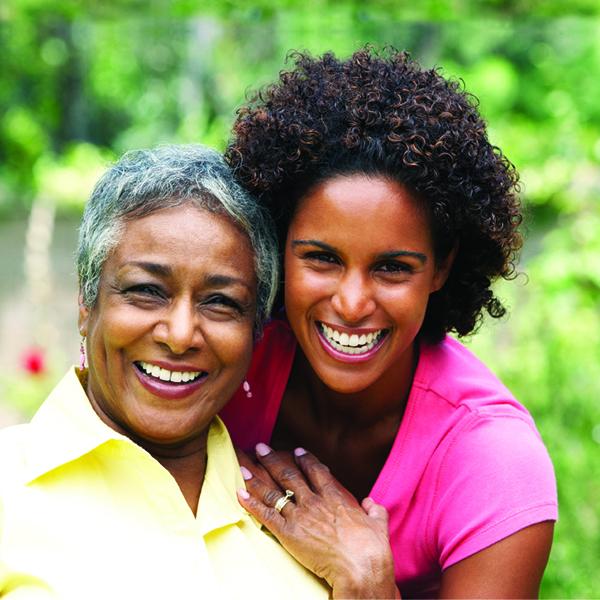 Happy African American Women