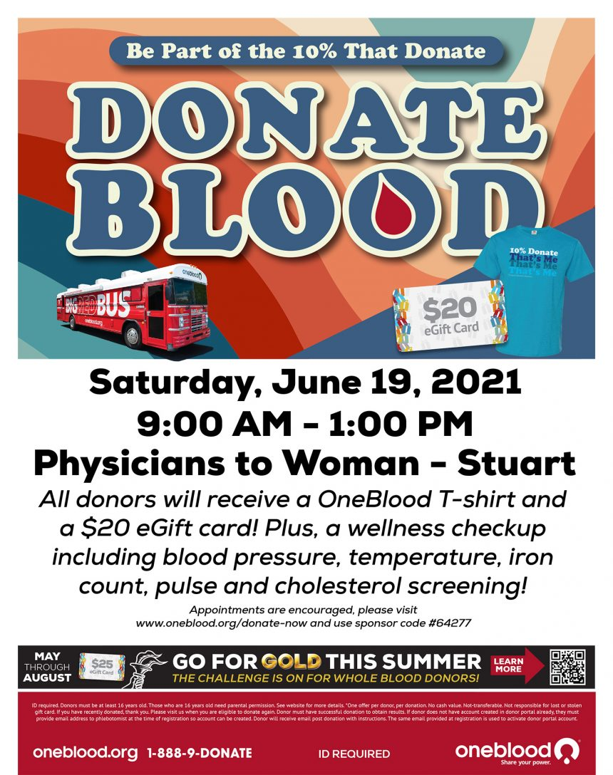 Be Part of the 10% that Donate Blood